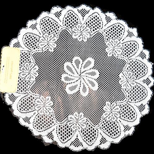 Individual- camino de mesa (color blanco disponible)