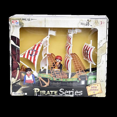 Cod. - 15564 - Barco Pirata C/Accesorios Fd110804