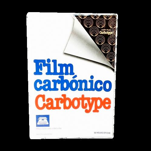 FILM CARBONICO OFICIO NEGRO X10