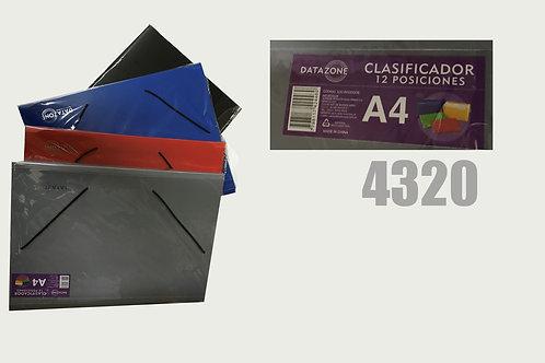 Cod. - 4320 - Clasificador A4 12 Posiciones