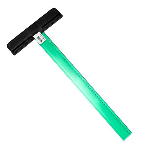 Cod. - 16009 - Regla T Pizzini 50Cms Verde - 81150