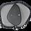 Thumbnail: Cod. - 17995 - Parasol Lateral X2 Negro 926-1