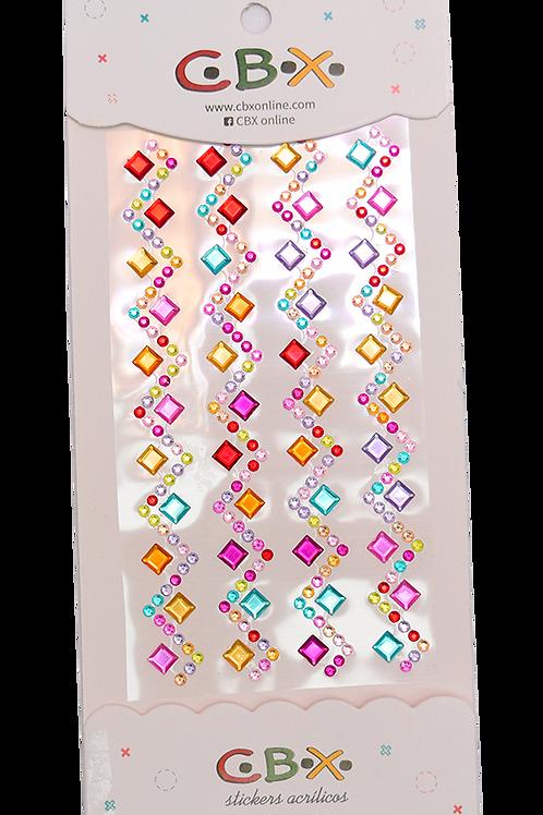 Stikers Surtidos 10.5X22