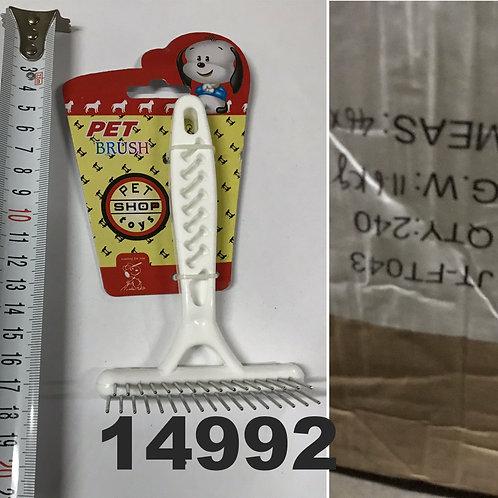 Cod. - 14992 - Cepillo Para Perro En Blister Jt-043 - P3Ts