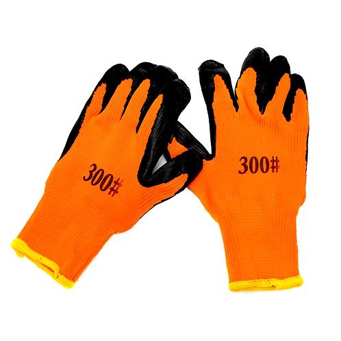 Guante De Trabajo Naranja 300