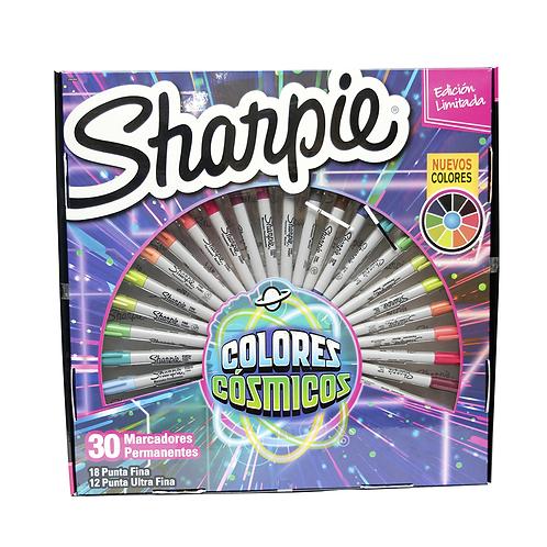 Cod. - 16160 - Marcadores Sharpie X30 Cosmicos 206868