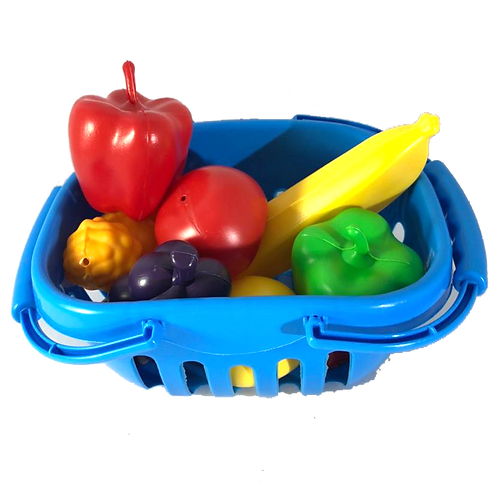 Canasta De Compras Con Verduras 0828