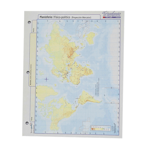 Cod. - 16806 - Block Mapa Rep Argentina Politico N°3 10019