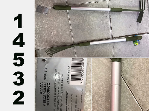 Cod. - 14532 - Azada Y Escardillo Jd S8 Az T A 2