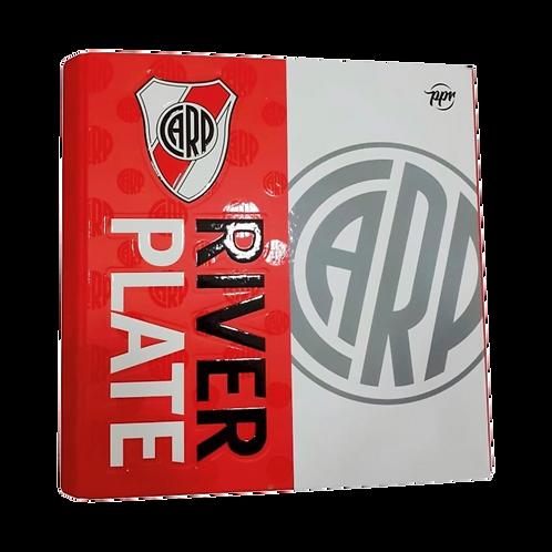 Cod. - 18436 - Carpeta Escolar 3X40 River Plate 1001125