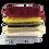 Thumbnail: Bufanda C/Flecos 180X70Cm 6 Colores 47250-8