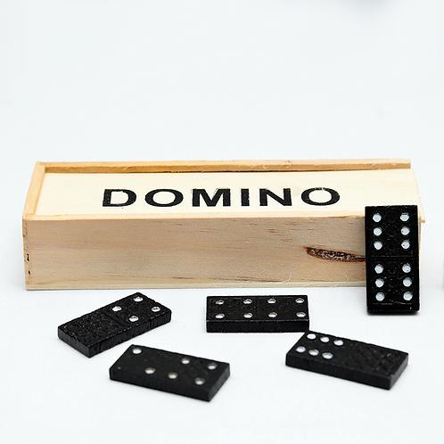 DOMINO CHICO FICHAS MADERA EN CAJA 7799