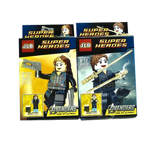 MuñEco Super Heroe Lego En Caja 3907-12
