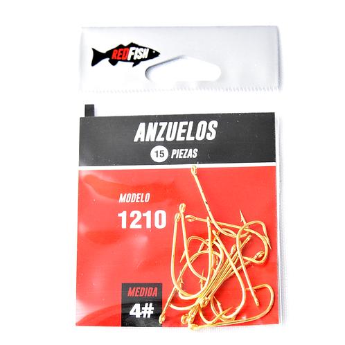 Anzuelo En Bolsa X15 N°4 1210-4B