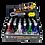Thumbnail: Llavero Linterna Laser 3En1 204/5427 10555