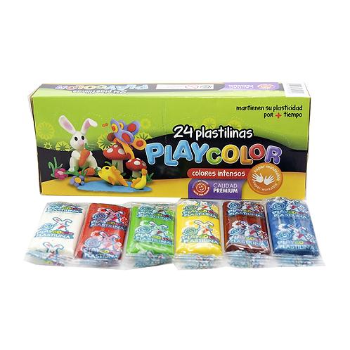 Plastilina Pancito Surtido Playcolor X6