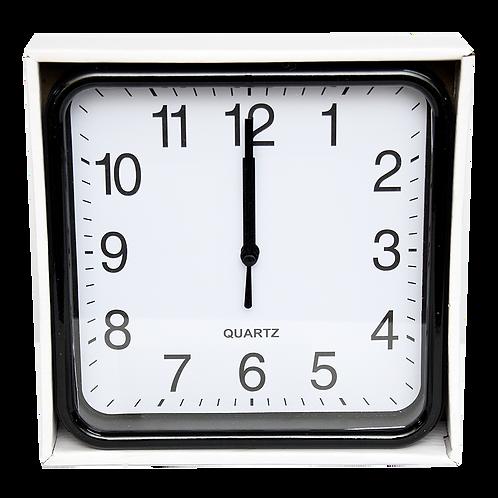 Reloj De Pared Cuadrado 20Cm 8485