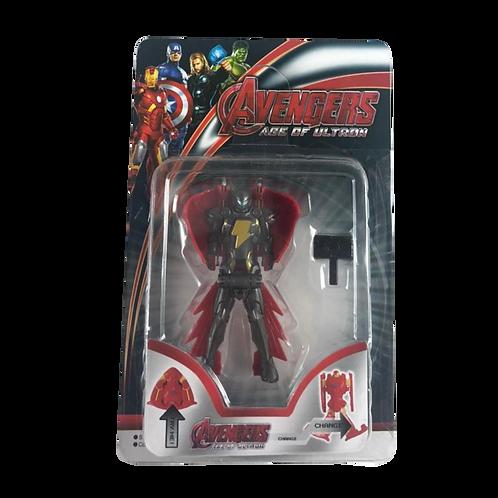Muñeco Avengers Mini C/Escudo En Blister Jl-14080