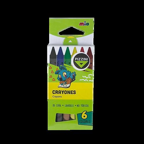 Crayones X6 9306