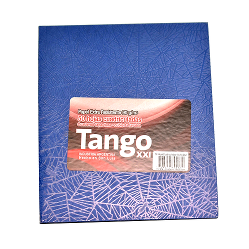Cuaderno Tango Xxi T/C 19X23.5 50Hjs