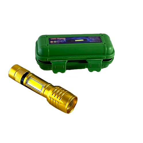 Linterna Recargable C/Usb 3 Funciones 512