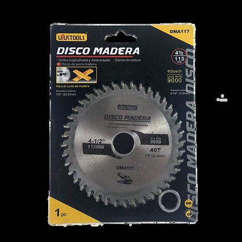 Disco Abrasivo De Corte 1 115Mm