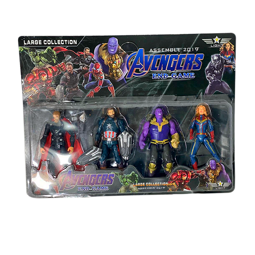 Cod. - 17325 - MuñEco Avengers En Blister X4 917-4