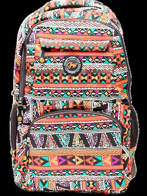 Mochila Fw 17¨ Azteca Geometrica 9094