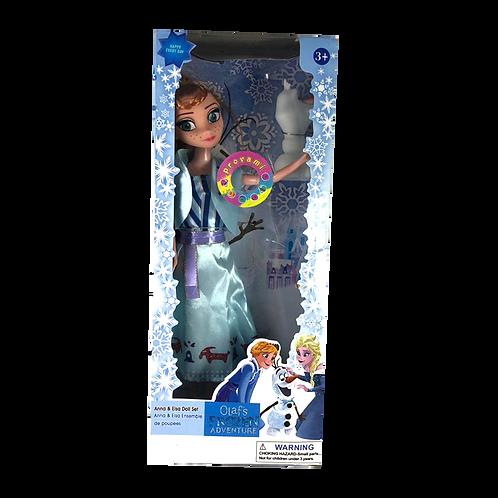 Muñeca Frozen X 1U. En Caja con sonido  Jf-F218