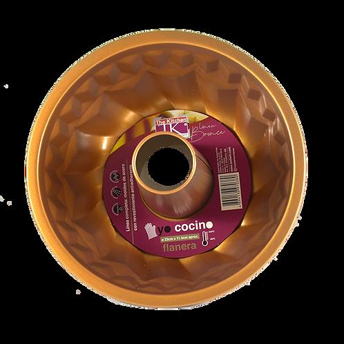 Flanera Bronce Antiadherente 23X11.5 Kcm5054