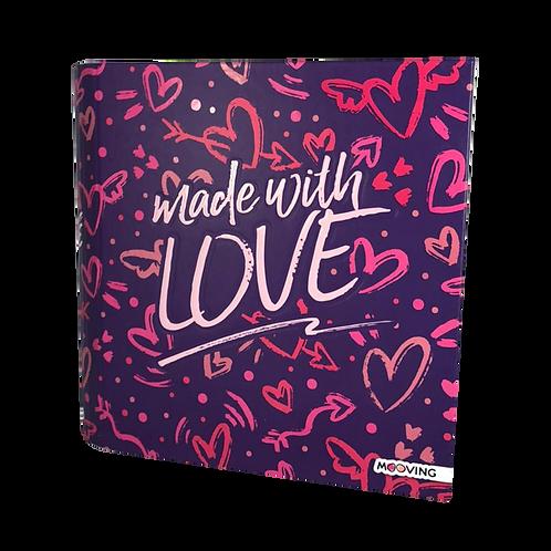 Carpeta Escolar 3X40 Love 1001107