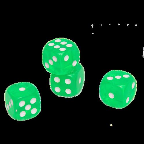 Dados Verde 16Mm