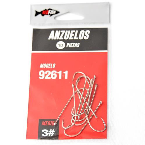 Anzuelo En Bolsa X10 92611-3