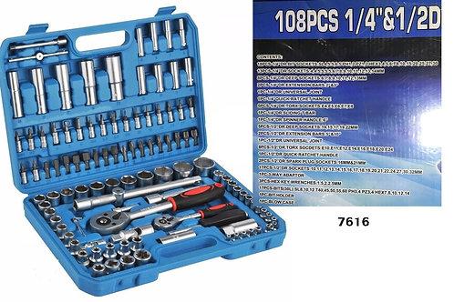 Juego De Tubo X108Pcs Caja Azul