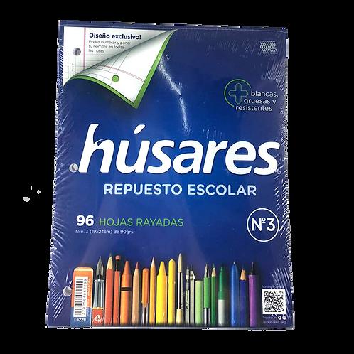 Repuesto Nº3 Escolar Husares Rayado X96Hjs 6229