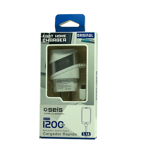 Cargador Seis 3.1A 1.5 Tipoa Micro C525