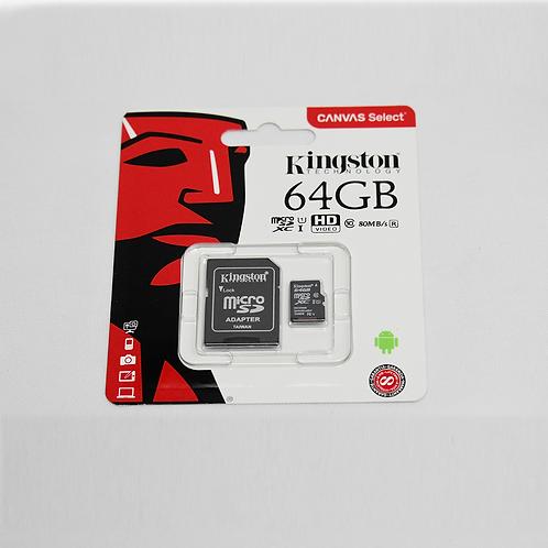 Memoria Kingstone Micro Sd 64Gb