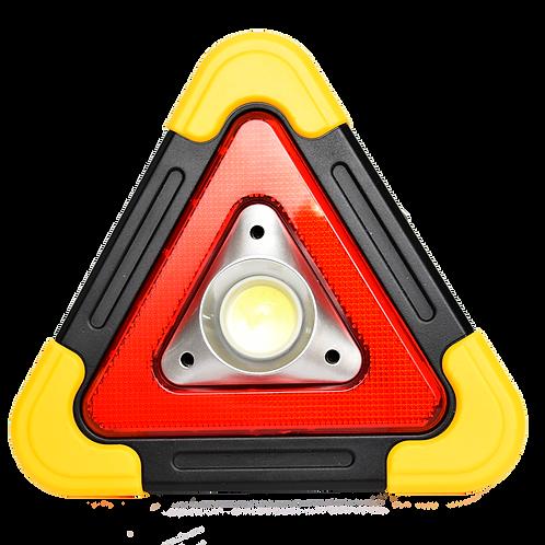 Baliza Triangulo C/Linterna Recargable 6609T