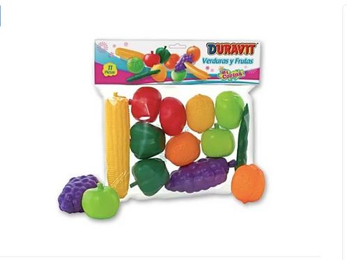 Set De Frutas Y Verduras 507