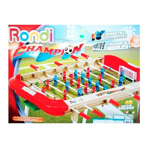 Metegol Champion  Con Camiseta RONDI 3124