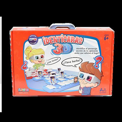 Identicaras Con Lentes 3D Fd171112