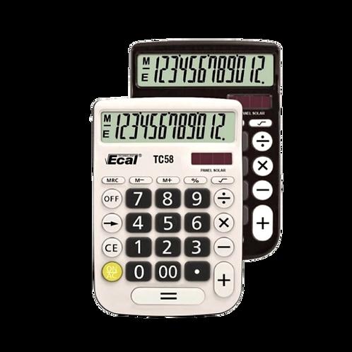 Cod. - 18746 - Calculadora Ecal 12Dig Tc58
