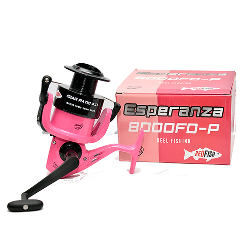Reel Fluo Rosa F8000P