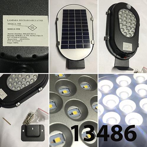 Lampara de exterior solar c/ sensor