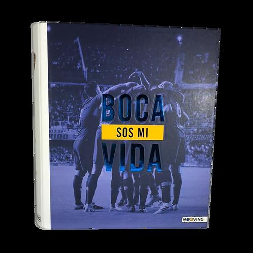 Cod. - 18507 - Carpeta A4 2X40 Boca Jrs 1002111