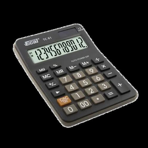 Cod. - 18747 - Calculadora Ecal 12Dig Tc61