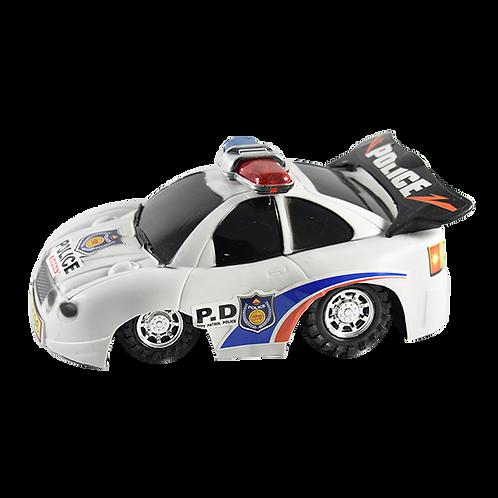 Auto Policia A Friccion 2 Col Jj6058