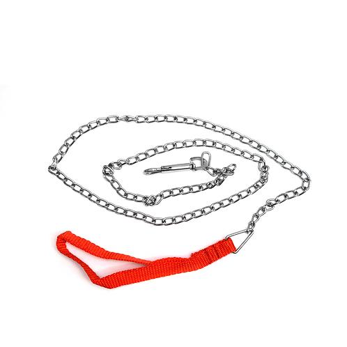 Cadena Para Perro Mango Rojo Fina - Jt-023 P3Ts.