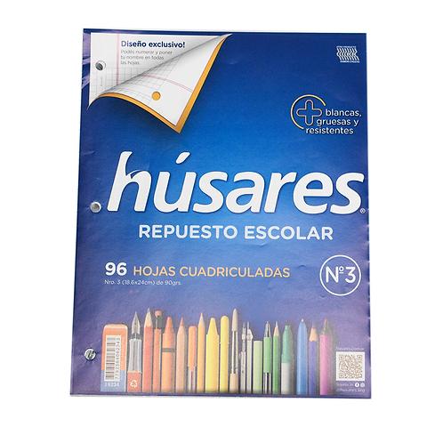 REPUESTO N°3 96HJS CUADRIDULADO HUSARES 6234