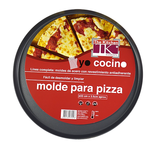 Molde P/Pizza Antiadherente 33Cm Kcm6093